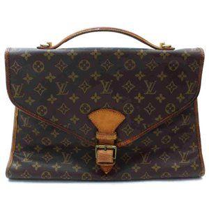 Auth Louis Vuitton Beverly Laptop Bag #6670L18